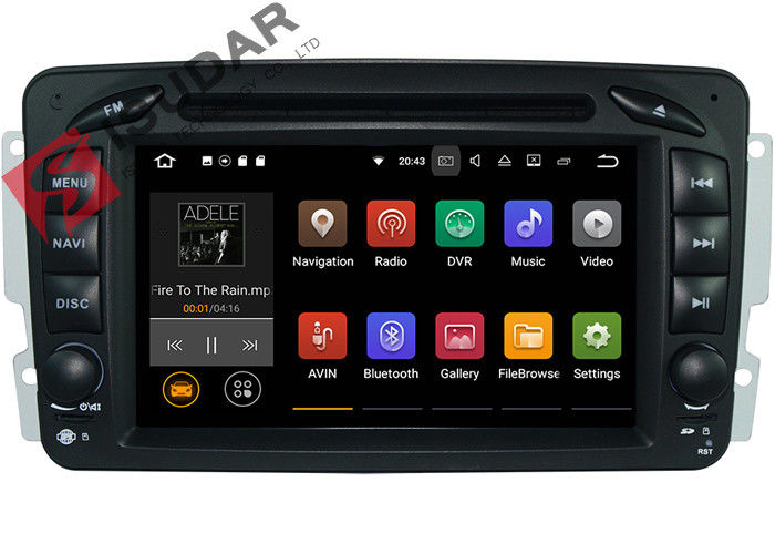 3D Games Support Mercedes Vito Head Unit , Mercedes Vito Dvd Player With Wifi GPS Radio