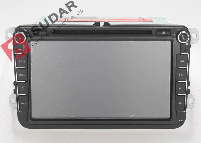 Android 6.0 Vw Touch Screen Stereo , 8 Inch Skoda Fabia Dvd Player Heat Dissipation