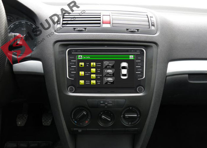 Wince System VW Car DVD Player With Usb Skoda Car Stereo Built In IPod 800M CPU