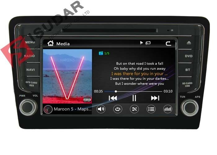 8 Inch Car Video GPS VW Car DVD Player For Volkswagen Santana 2013 3G IPod