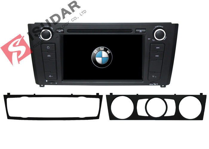 1 Series E81 / E82 / E87 BMW DVD GPS Navigation Android 6 Car Stereo Support 4G